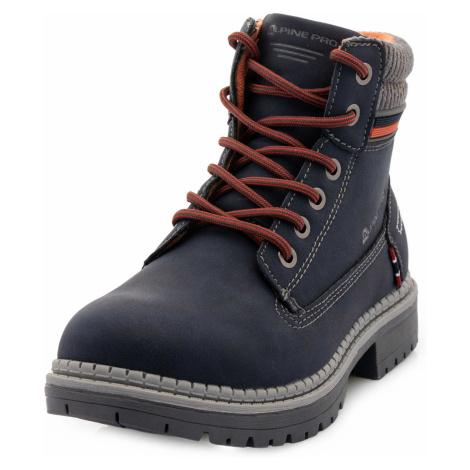Alpine Pro FEWRO MODRÁ Dětská zimní obuv