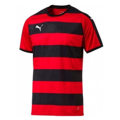 Puma LIGA JERSEY HOOPED černá - Pánské sportovní triko