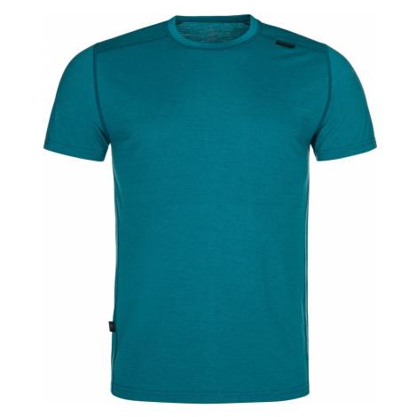 Pánské funkční tričko KILPI MERIN-M tyrkysová