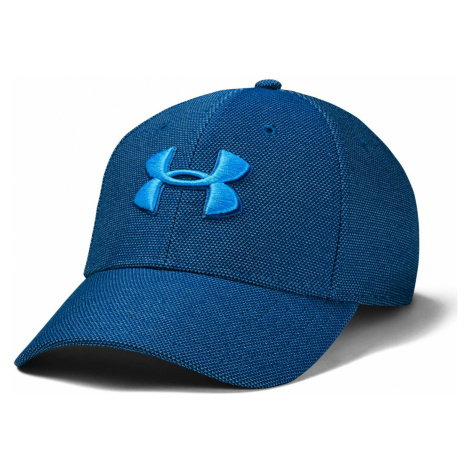 Kšiltovka Under Armour Heathered Blitzing 3.0 Modrá
