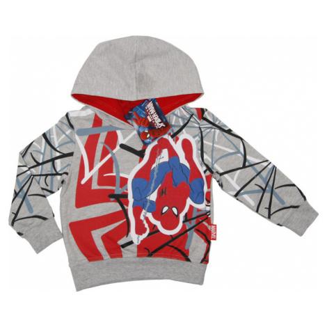 SPIDERMAN CHLAPECKÁ ŠEDO-ČERVENÁ MIKINA Spider-Man