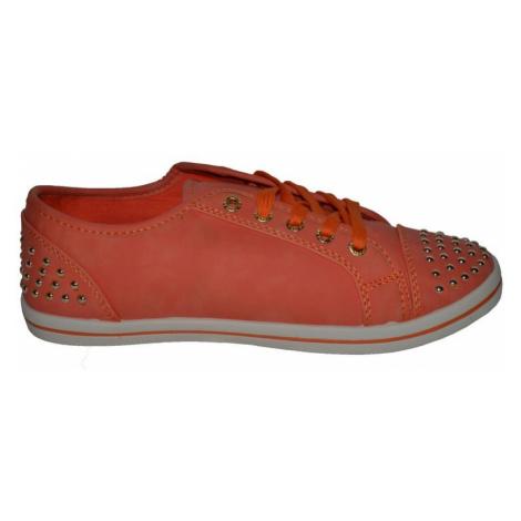 Nízké oranžové tenisky Vices