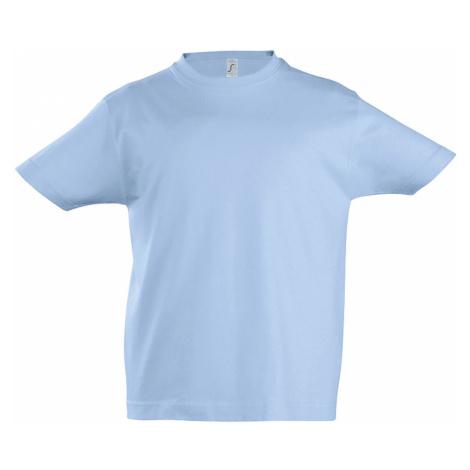 SOLS Dětské triko s krátkým rukávem IMPERIAL KIDS 11770220 Sky blue SOL'S