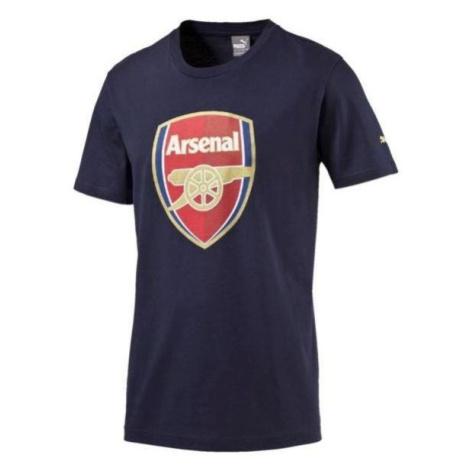 Tričko Puma Arsenal Fan Tee Tmavě modrá