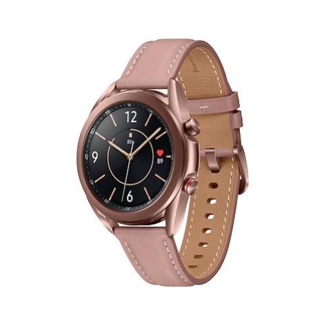 Samsung Galaxy Watch 3 41mm bronzové