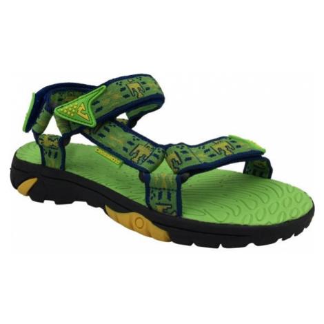 Crossroad MEPER zelená - Dětské sandály
