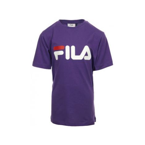 "Fila Kids Classic Logo Tee ""Tillandsia"" Fialová"
