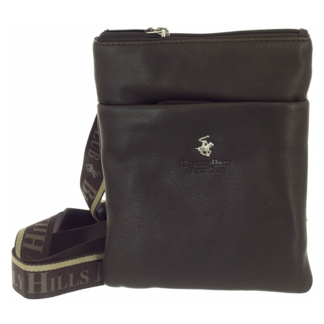 Taška crossbody kožená BHPC Virginia S Beverley Hills Polo Club