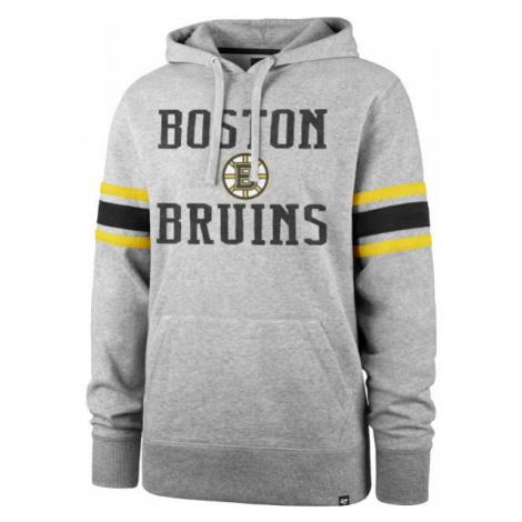 47 NHL BOSTON BRUINS DOUBLE BLOCK SLEEVE STRIPE HOOD - Mikina