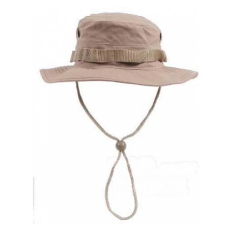Klobouk MFH® US GI Bush Hat Rip Stop - khaki Max Fuchs
