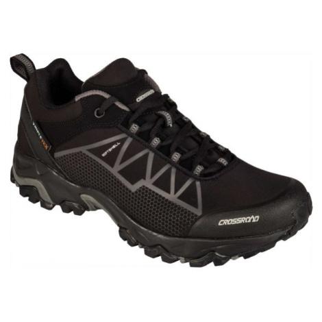 Crossroad DRAGON LOW černá - Pánská treková obuv