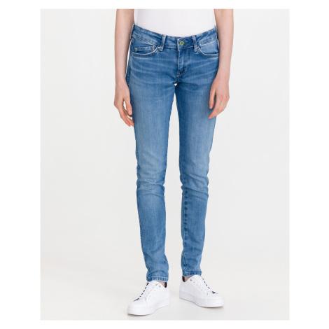 Pepe Jeans Pixie Stitch Jeans Modrá