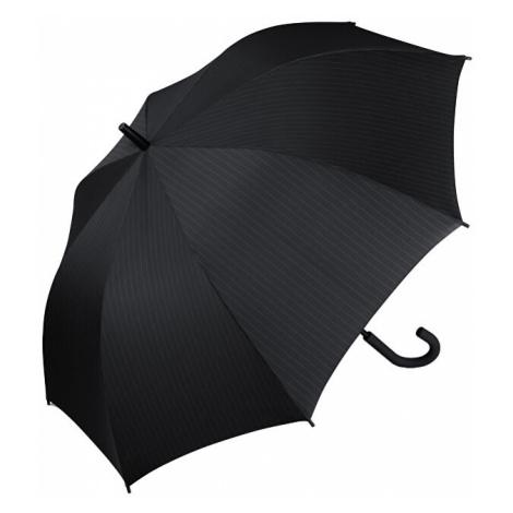 Esprit Pánský holový deštník Gents Long AC Needle Stripe Black