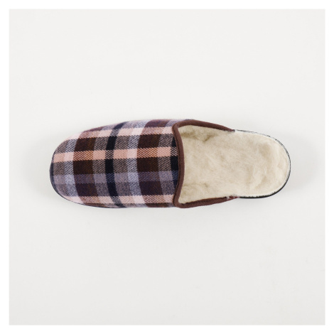 Blancheporte Domácí pantofle Jeva kaštanová