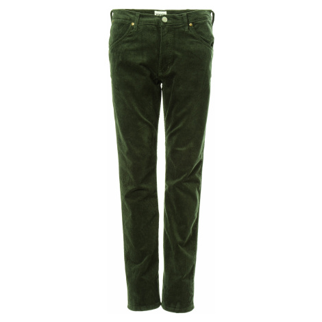 Manšetrové kalhoty Wrangler 11MWZ pánské zelené