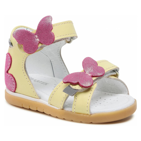 Sandály BARTEK - 11417003 Žlutá