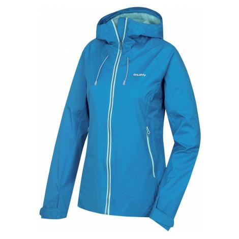 Husky Nicker L, modrá Dámská hardshellová bunda