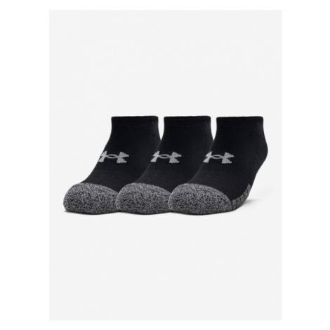 Ponožky Under Armour Sneaker Pestitor II. M 4151676 - černá/šedá XL (47-53 EU)