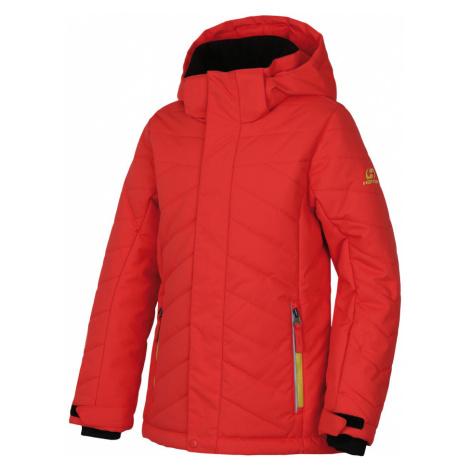 HANNAH ROVENA JR Dívčí zimní bunda 10007379HHX01 Hot coral