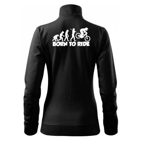Evoluce Born to ride - Mikina dámská Viva bez kapuce