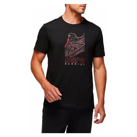 Pánské tričko Asics Running GPX Tee černé,