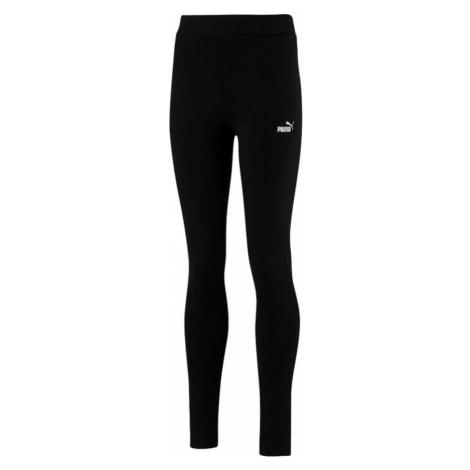 Puma Essentials dívčí sportovní kalhoty černé
