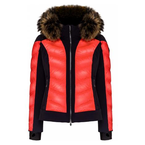 Lyžařská bunda Descente NIKA oranžová