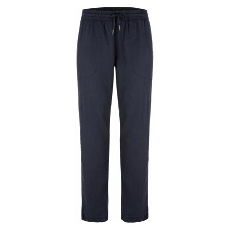 Tmavě modré dámské kalhoty LOAP Nalina