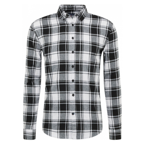 Denim Project Košile 'Check Shirt' bílá