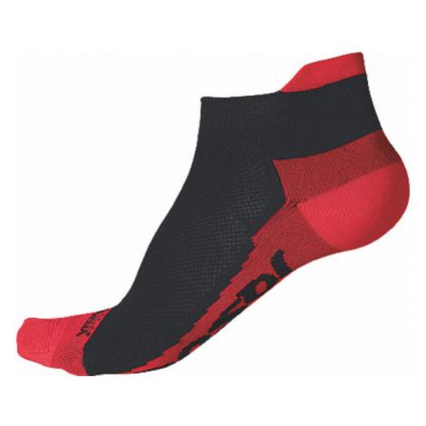 RACE COOLMAX INVISIBLE Sportovní ponožky 1041006 černá/červená Sensor