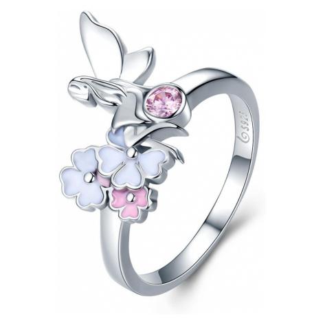 OLIVIE Stříbrný prsten TŘEŠŇOVÁ VÍLA 3508