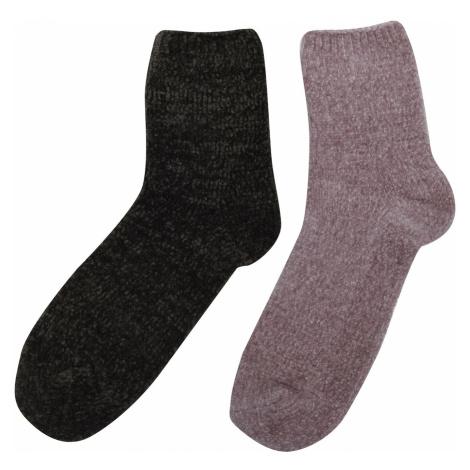 Firetrap 2 Pack Cosy Socks Ladies