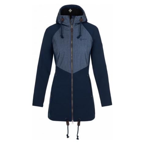 Dámský softshellový kabát KILPI LASIKA-W tmavě modrá