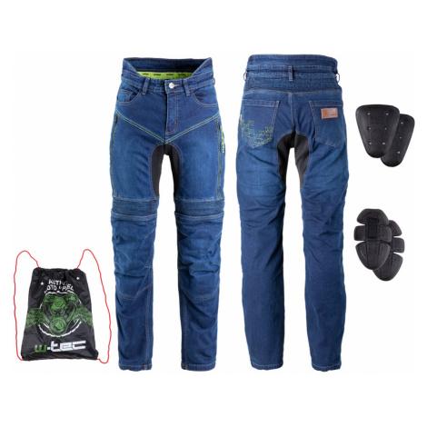 Pánské Moto Jeansy W-Tec Biterillo Modrá