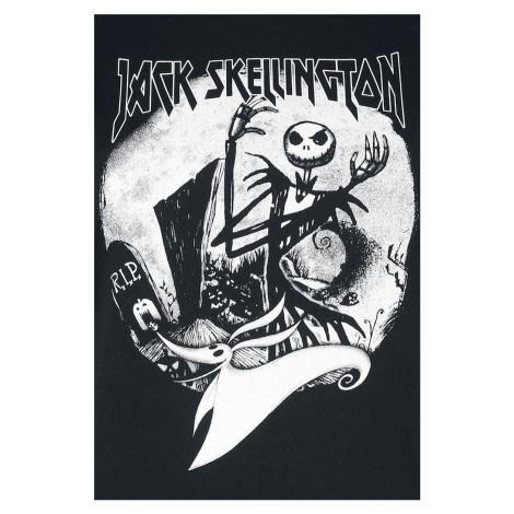 The Nightmare Before Christmas Jack Skellington - Evil dívcí triko s dlouhými rukávy šedá/cerná