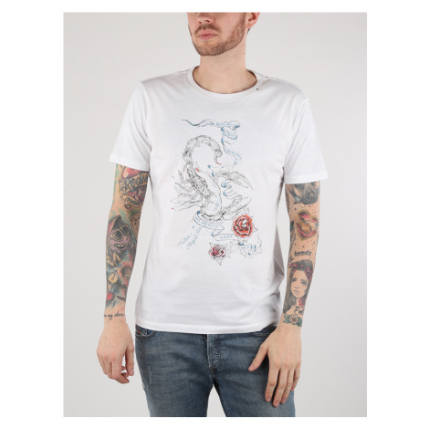 Tričko Replay M3541 T-Shirts Bílá