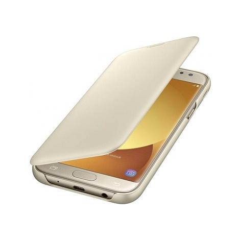 Samsung Galaxy J6 Wallet Cover zlaté