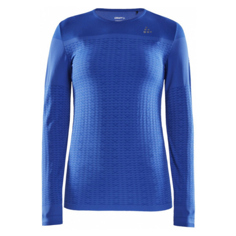 Dámské tričko CRAFT Urban Run Fuseknit LS modrá