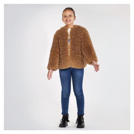 Dívčí bunda Mayoral 7410-19 | oříšková