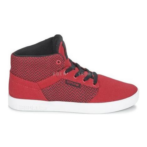 Supra Yorker HI junirské kotníkové boty červené