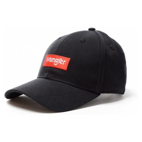 Kšiltovka Wrangler Logo Cap černá