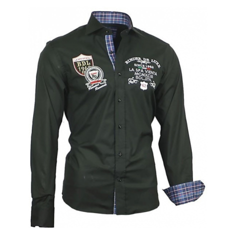 BINDER DE LUXE košile pánská 81103 dlouhý rukáv