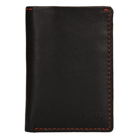 Lagen Pánská kožená peněženka tp-810 Dark Brown