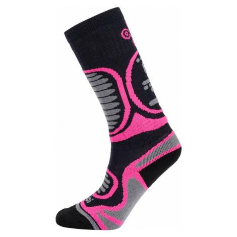 Dětské lyžařské ponožky KILPI ANXO-J růžová