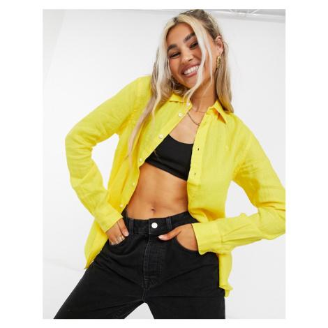 Polo Ralph Lauren button down shirt in yellow
