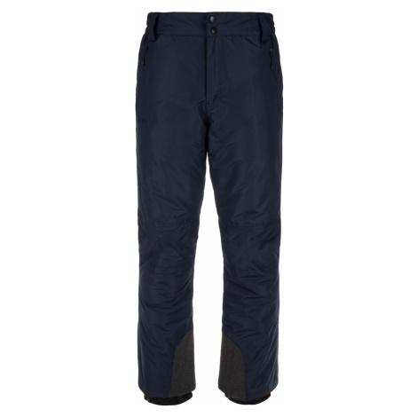 KILPI Pánské lyžařské kalhoty GABONE-M LM0047KIDBL Tmavě modrá