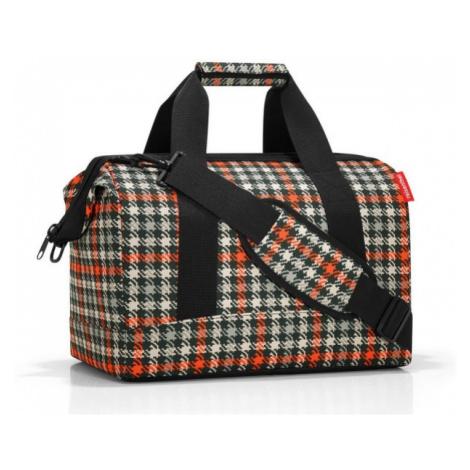 Cestovní taška Reisenthel Allrounder M Glencheck red