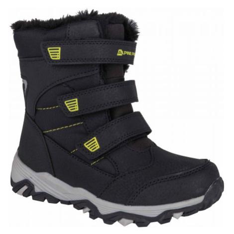 ALPINE PRO KURTO bílá - Dětská zimní obuv