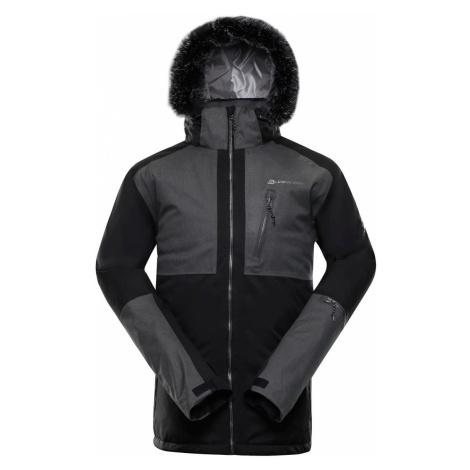 ALPINE PRO DOR 2 Pánská lyžařská bunda MJCP372990 černá
