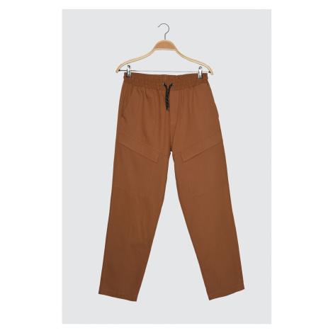 Trendyol Camel Men's Pocket Detail Pants